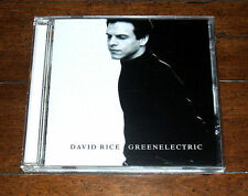CD: David Rice - Green Electric (1998, Columbia) David Bottrill Trey Gunn VG+