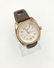 ZODIAC SEADRAGON Swiss Made Ladies Watch Z02905 w/ Sparkle Crystal Bezel