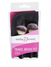 Studio 35 Beauty Travel Brush Set New with Pouch