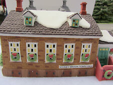 Dept 56 Stoney Brook Town Hall - New England Village - 56448  (11:12)