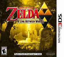 The Legend of Zelda A Link Between Worlds 3DS Game (US version NTSC)