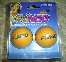 Flingo TRAMPOLINE SUPER BOUNCE beach volleyball game replacement balls 2 pack