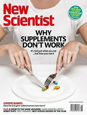 NEW SCIENTIST MAGAZINE 1st DECEMBER 2018 SPECIAL OFFER BUY ANY 6 ISSUES £10.00