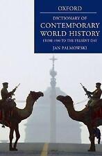 Dictionary of Contemporary World History..NEW HARDCOVER
