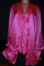 Victorias Secret 100% SILK Halter Romper & Robe 2pc Pajamas Pajama Set NEW M