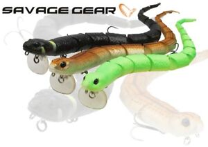 Savage Gear 3D Snake Surface Topwater Floating Fishing Lure 20cm 30cm 25g 57g UL