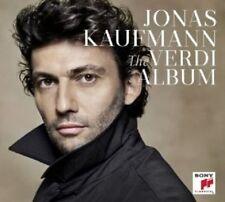 JONAS KAUFMANN - THE VERDI ALBUM  CD NEU VERDI,GIUSEPPE