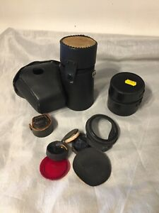 Job Lot Vintage Camera Cases Lens Etc