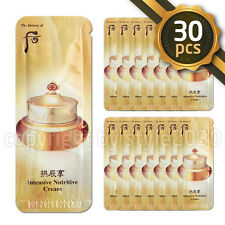 [The history of Whoo] New Qi & Jin Cream 1ml x 30pcs Intensive Nutritive Cream