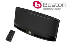 Boston Acoustics MC200 Wireless Speaker System with AirPlay -Black (NEW)
