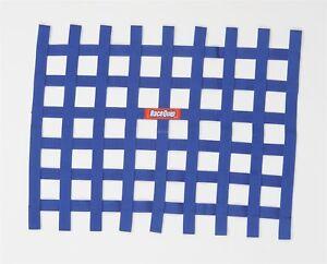 Racequip Window Net Blue IMCA UMP Late Model 721025 18 x 24 Ribbon Dirt Modified