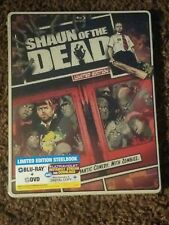 Shaun of the Dead Limited Edition Steelbook Blu-ray Dvd & Digital Sealed New