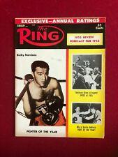 "1956, Rocky Marciano, ""RING"" Magazine (No Label) Scarce / Vintage"