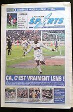 La voix des sports 28/11/2005; Lens Gifle le PSG/ Poster Handball Dunkerque