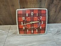 Vintage GE-Model-2H30-Electric Table/Wall Working Plaid -Retro