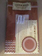 NUOVO CON CONFEZIONE NUOVA confezione da 4 sacchetti Cookie DA TAVOLO DIVERTIMENTO-con tag regalo, esegue il pegging & RICETTA