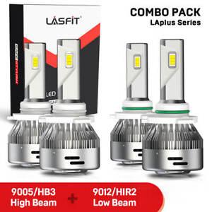 Super Bright LED Headlight Bulbs 4x for Ram 1500 2500 3500 2013-2015 w/projector
