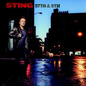 Sting 57TH & 9TH Edizione Deluxe 13-track digipak CD Album 2016 Nuovo/Sigillato
