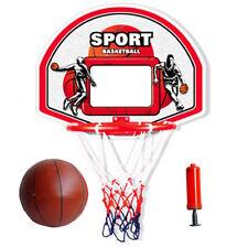 Kids Children Basketball Ring Hoop Rim with backboard Ball and Pump