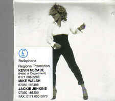 Tina Turner-When The Heartache Is Over Promo cd single