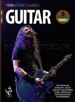 Rockschool Classics Guitar Grade 2 TAB Music Book/Audio Bon Jovi AC/DC Metallica