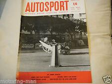 Monte Carlo Rally 1959 Mercedes 300SL Jaguar 3.4 Pat Moss Ann sabiduría Austin A40