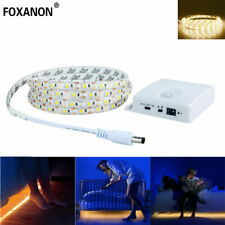 LED PIR Motion Sensor Strip Light Underbed Closet Waterproof tape Night light 1M