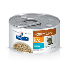 New listing Hills Prescription Diet K/D Kidney Care Cat Wet Food Vegetable and Tuna 36pk