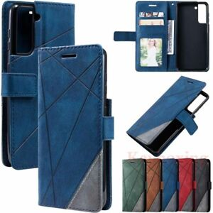 For Samsung S21 Ultra S20 S10 S9 S8 Note20 Wallet Card Holder Leather Case Cover