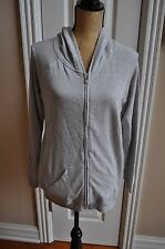 NWT!! WOMENS BEBE Gray Athletic Hooded Jacket Size SMALL~NICE~