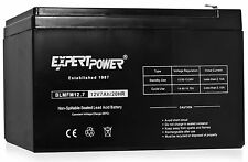 ExpertPower 12V 7 Amp EXP1270 Rechargeable Lead Acid Battery 12 v 7 AH 1 Pack