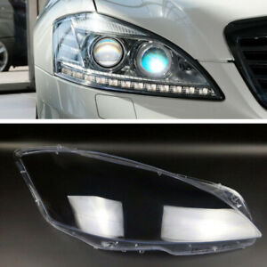 Right Headlights Kit Lens Lamp Cover For Mercedes-Benz S-Class W221 2010-2013