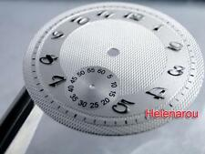 HR B-Uhr Flieger Pilot Guilloche Watch Dial for  ETA Unitas 6498 Movement