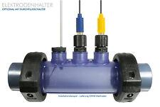 PVC Durchflussarmatur Messzelle Elektrodenhalter für PH/CHLOR/REDOX Elektroden