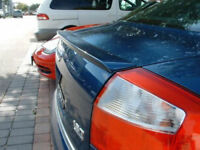 For AUDI A4 B6 BOOT LIP SPOILER - S4 LOOK cover wing