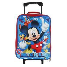 39da2467357 New Disney Kids  Mickey Mouse Rolling Luggage