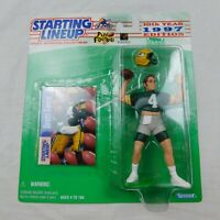 SLU Brett Favre NFL Starting Lineup Figure & Card 1997 Green Bay Packers Kenner