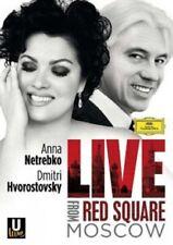 ANNA NETREBKO / DIMITRI HVOROSTOVSKY - LIVE FROM RED SQUARE  BLU-RAY NEU