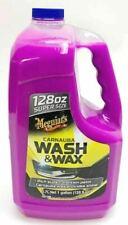 Meguiar's Carnauba Wash & Wax Super Size 1 Gallon Car Wash 128 FL OZ OPEN PK
