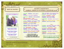 SABBAT'S & MOON'S 2018 FOR AUSTRALIA SOUTHERN HEMISPHERE Wicca Witch Pagan Goth