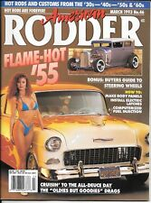 American Rodder Magazine - March 1993 No. 46 - Includes Poster