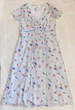 Wayward Fancies eShakti Seashell Dress 2XL NWOT
