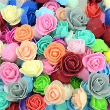 1000x Foam Mini Small Flowers Head Roses Wedding Home Party Decor DECORATION R3K