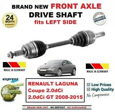 FOR RENAULT LAGUNA Coupe 2.0dCi 2.0dCi GT 2008-2015 FRONT AXLE LEFT DRIVESHAFT