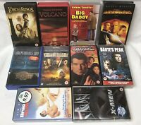 Vhs Bundle Joblot 10 X Uk Video Cassette Tapes All Cert 12