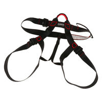 Fall Protection Construction Rock Climbing Half Body Safe Harness Seat Belts