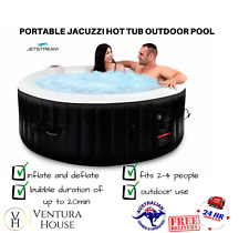 Jetstream Inflatable Spa Relaxing Massage Outdoor Jacuzzi Hot Tub Portable Pool