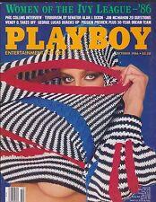 PLAYBOY  10 - 1986 Oktober WENDY O. WILLIAMS