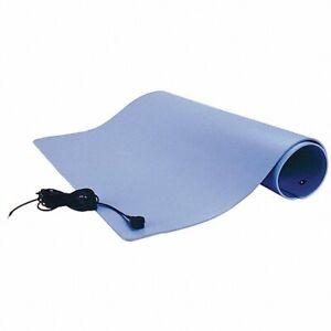 """SCS TM2448L3BL-L Dissipative ESD Anti-Static 3-Layer Vinyl Work area Mat 24""""x48"""""""