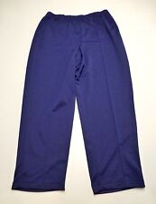 Blair Womens Size 20W Blue Elastic Waist Sewn In Front Seam Pants New